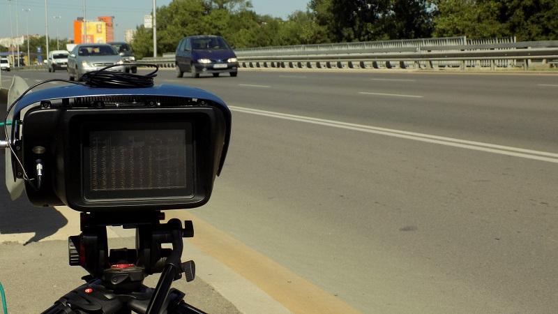 44 539 нарушения отчете Пътна полиция при операция за контрол на скоростта